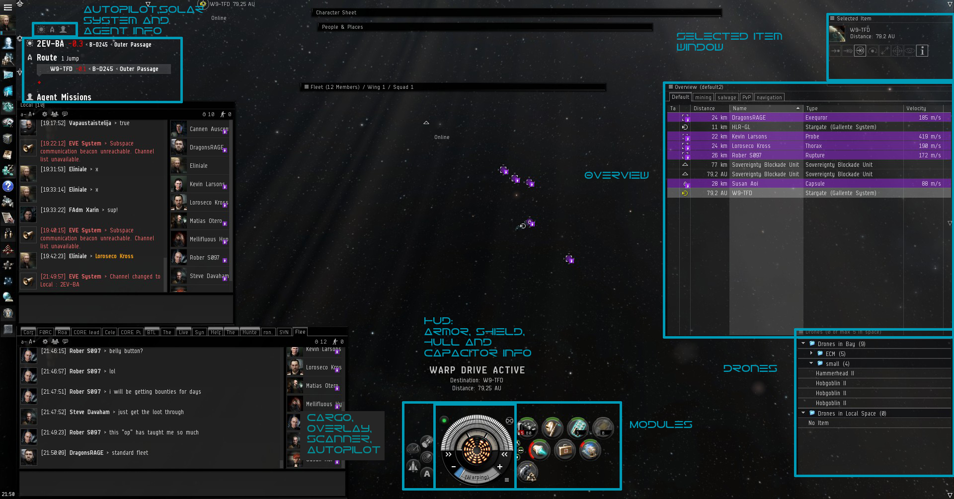 EVE screen