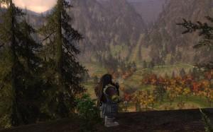 Enjoying a pipe over Rivendell