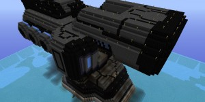 Minecraft Project-Heavy Electron Blaster