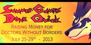 Summer Games Done Quick 2013 started